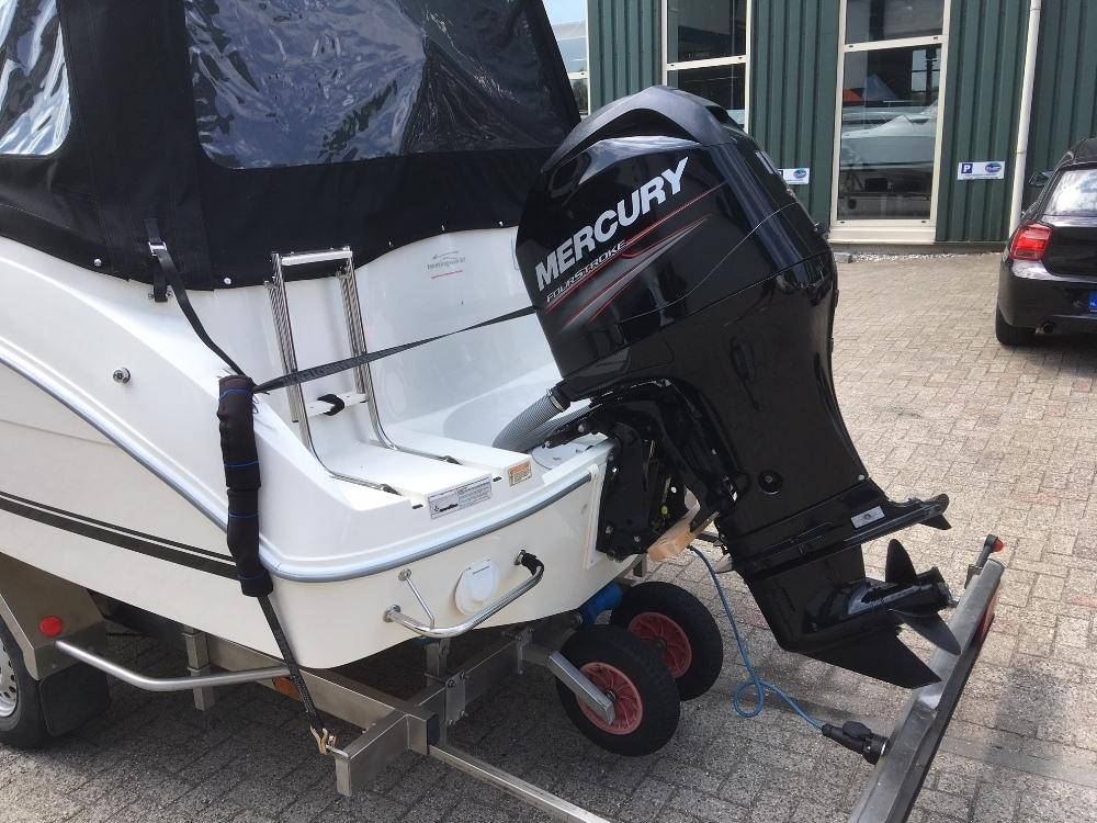Quicksilver 540 activ cabin met 115pk mercury 5