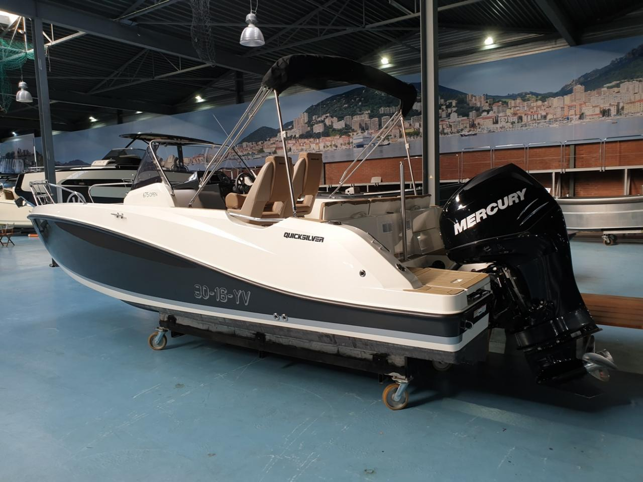 Quicksilver 675 activ open met Mercury Verado 200pk 2