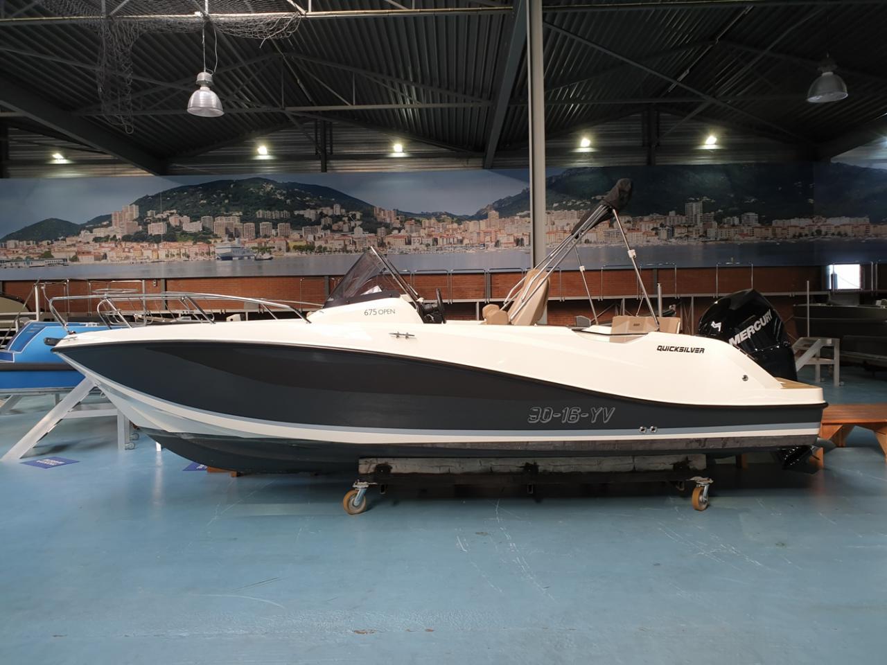 Quicksilver 675 activ open met Mercury Verado 200pk 6