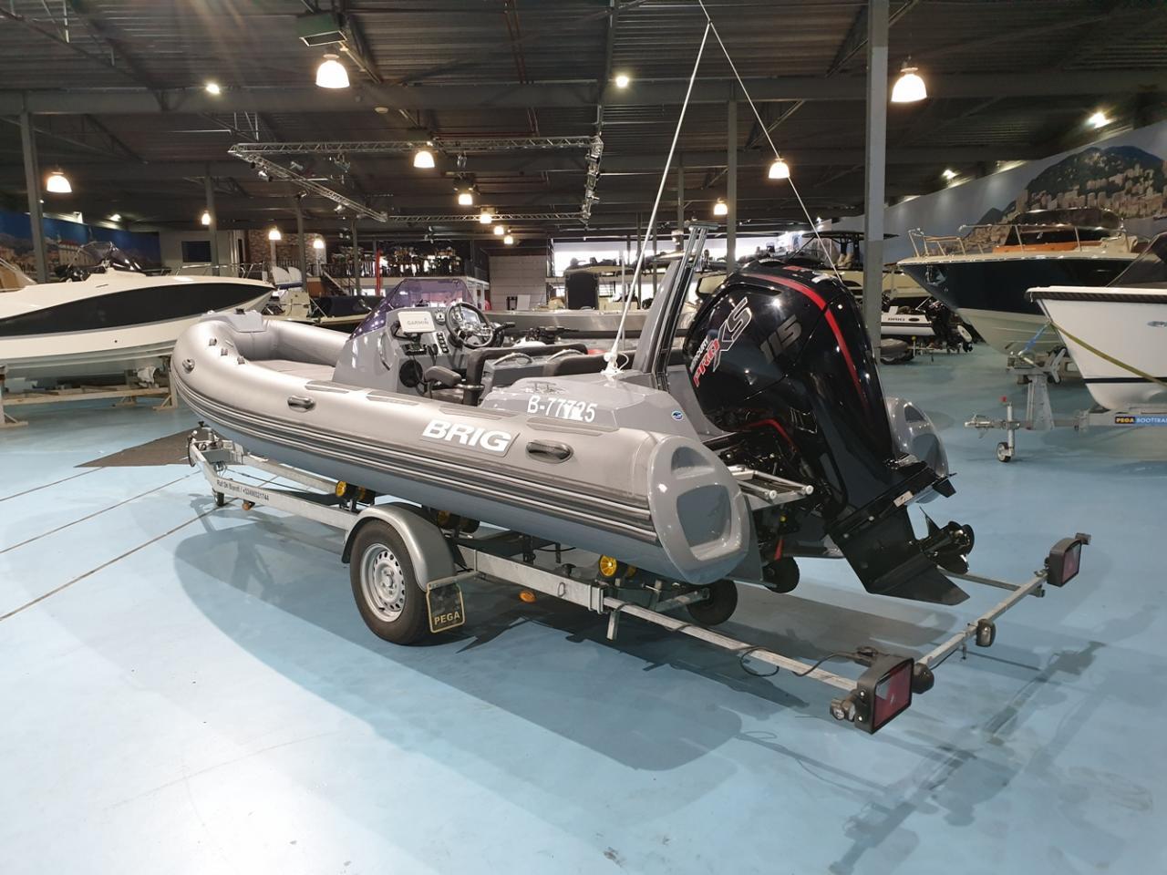 Brig Eagle 580 met Mercury 115 pk PRO XS  2