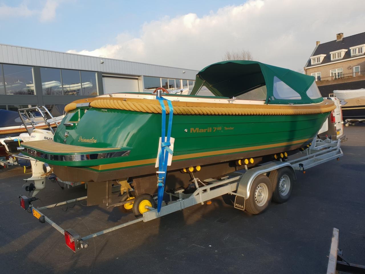 Maril 795 tender met Vetus 42 pk full options! 8
