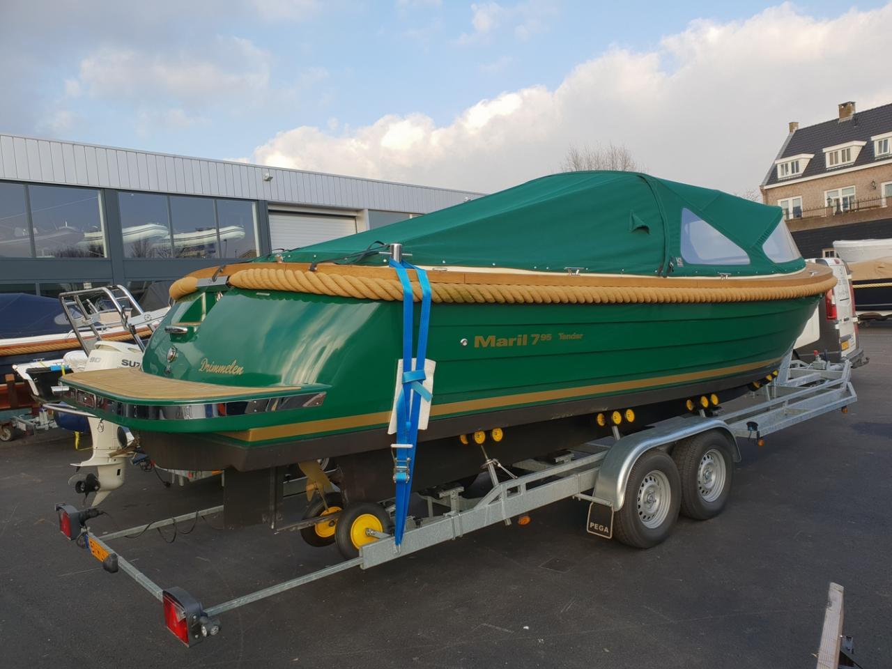 Maril 795 tender met Vetus 42 pk full options! 5