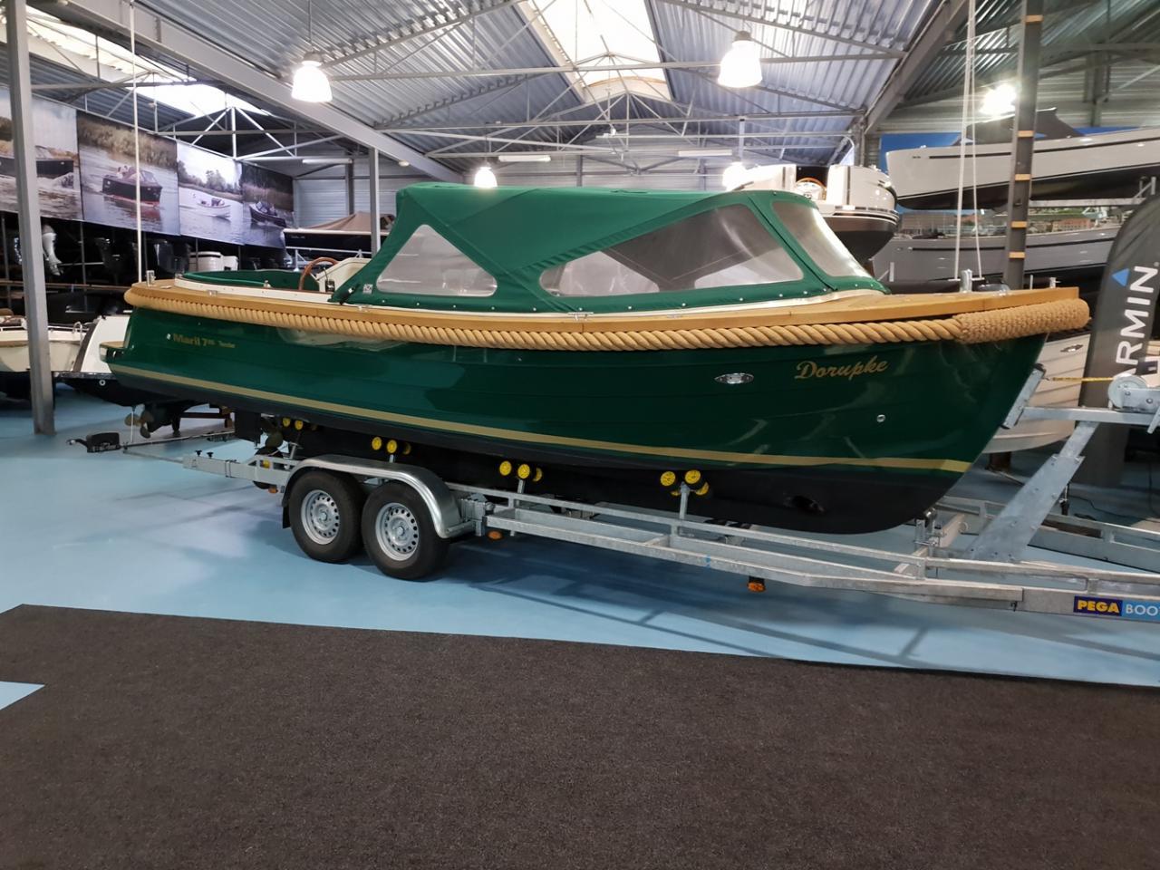 Maril 795 tender met Vetus 42 pk full options! 1