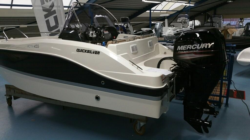 Quicksilver 455 activ open 4