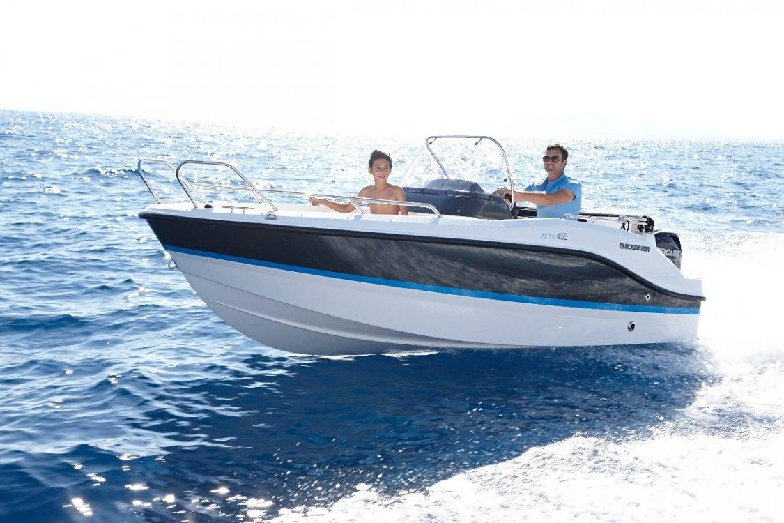 Quicksilver 455 activ open 1