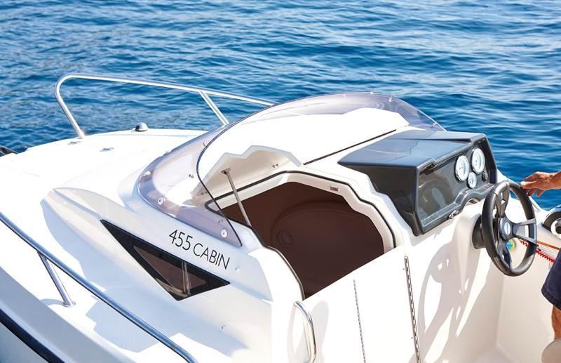 Quicksilver 455 activ cabin met Mercury 25 pk 4