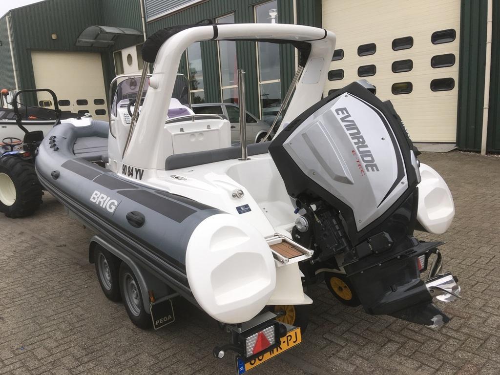 Brig eagle 650 met Evinrude E-tec 300 pk motor 12