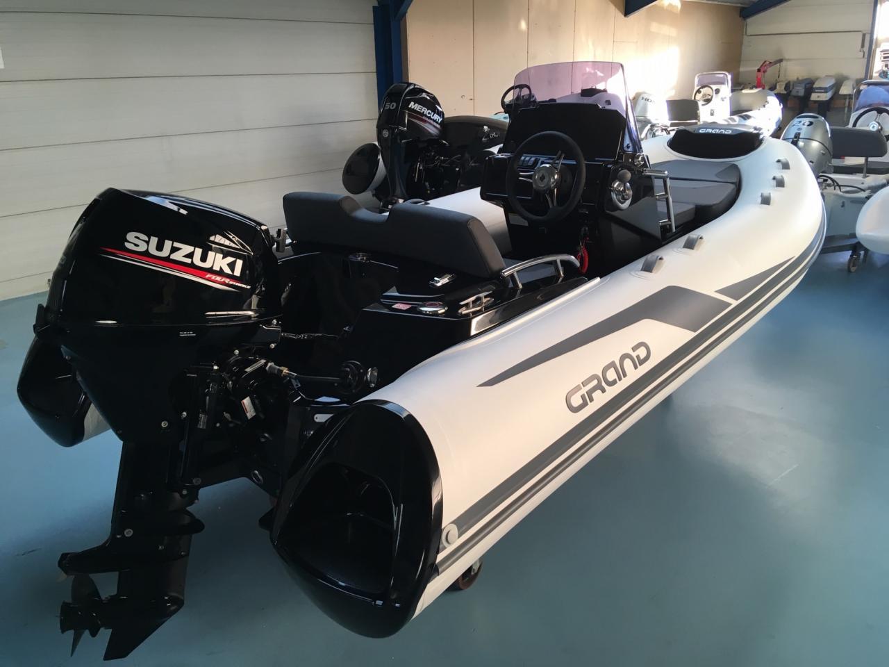 Grand G420LF met Suzuki 30 ATL 3