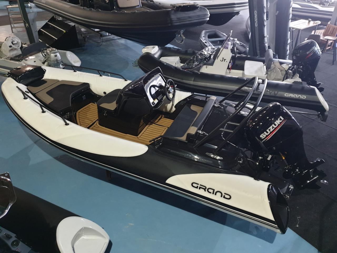 Grand G500 golden line met Suzuki 100 pk op voorraad! 4