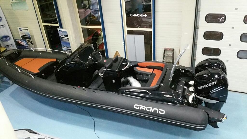 Grand 850 goldenline met 2x Verado 225 7