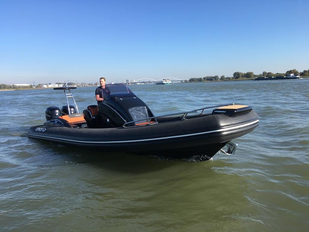 Grand 850 rib met 2x Mercury Verado 225 pk 6