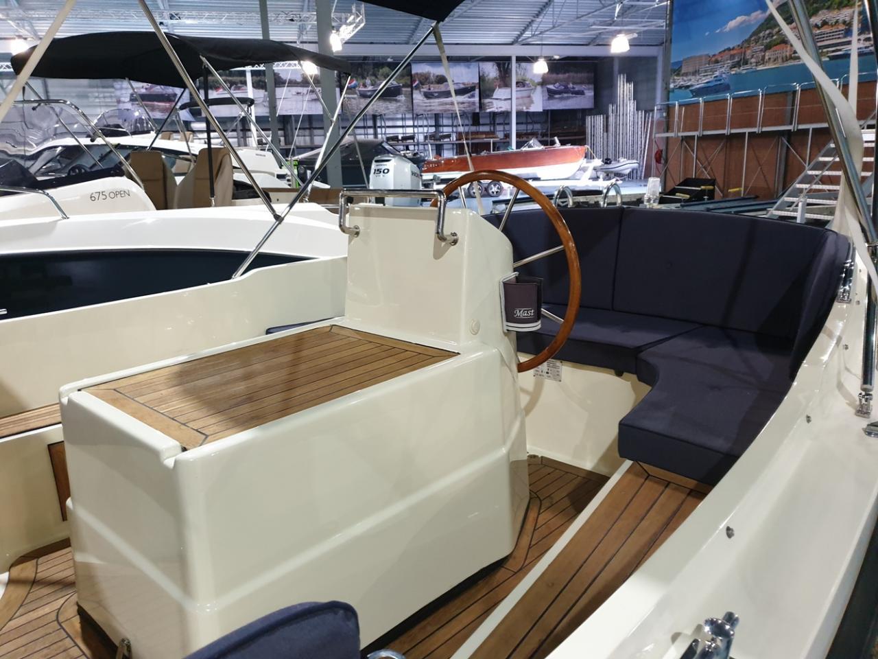 Interboat 19 sloep met Vetus 25 pk diesel 3