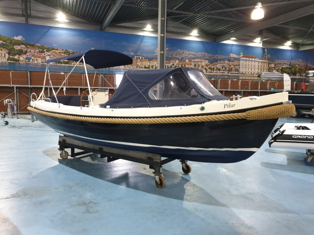 Interboat 19 sloep met Vetus 25 pk diesel 1