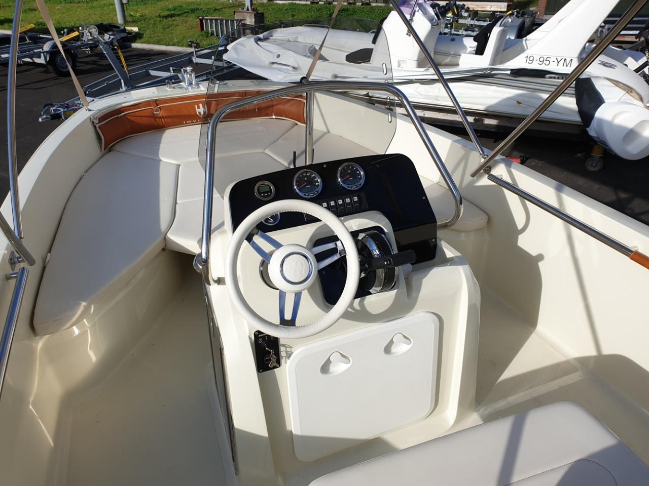 Invictus 190 fx console met nieuwe Mercury 100 pk 3