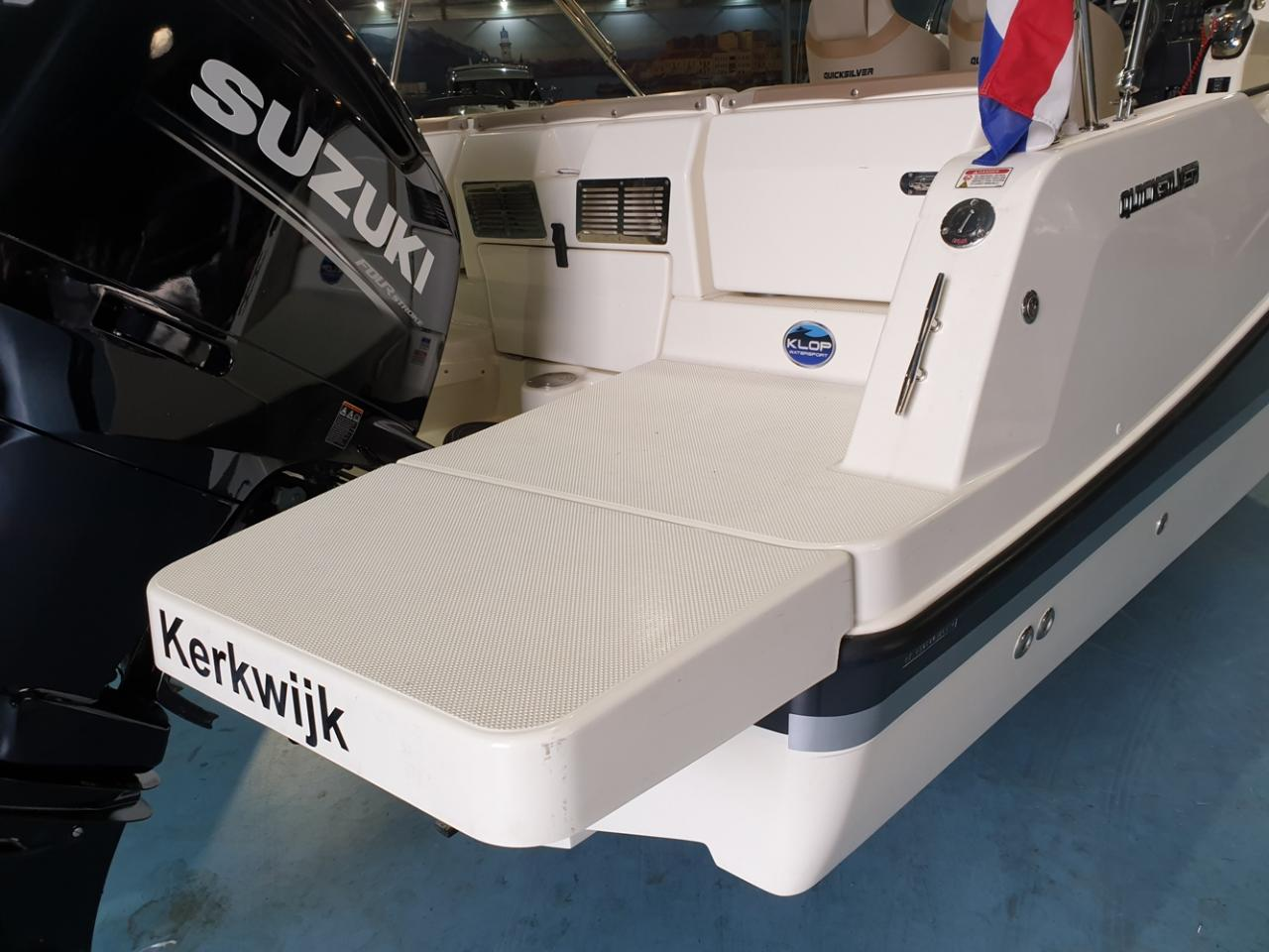 Quicksilver 755 activ open met Suzuki 300 pk! 14