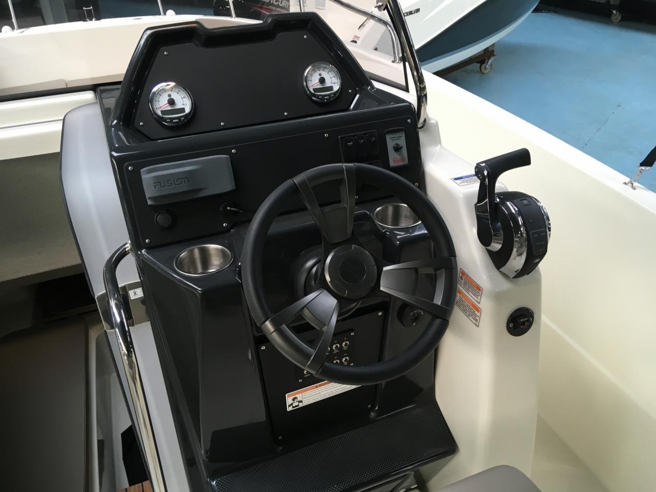 Quicksilver 755 activ open met Suzuki 300 pk! 15