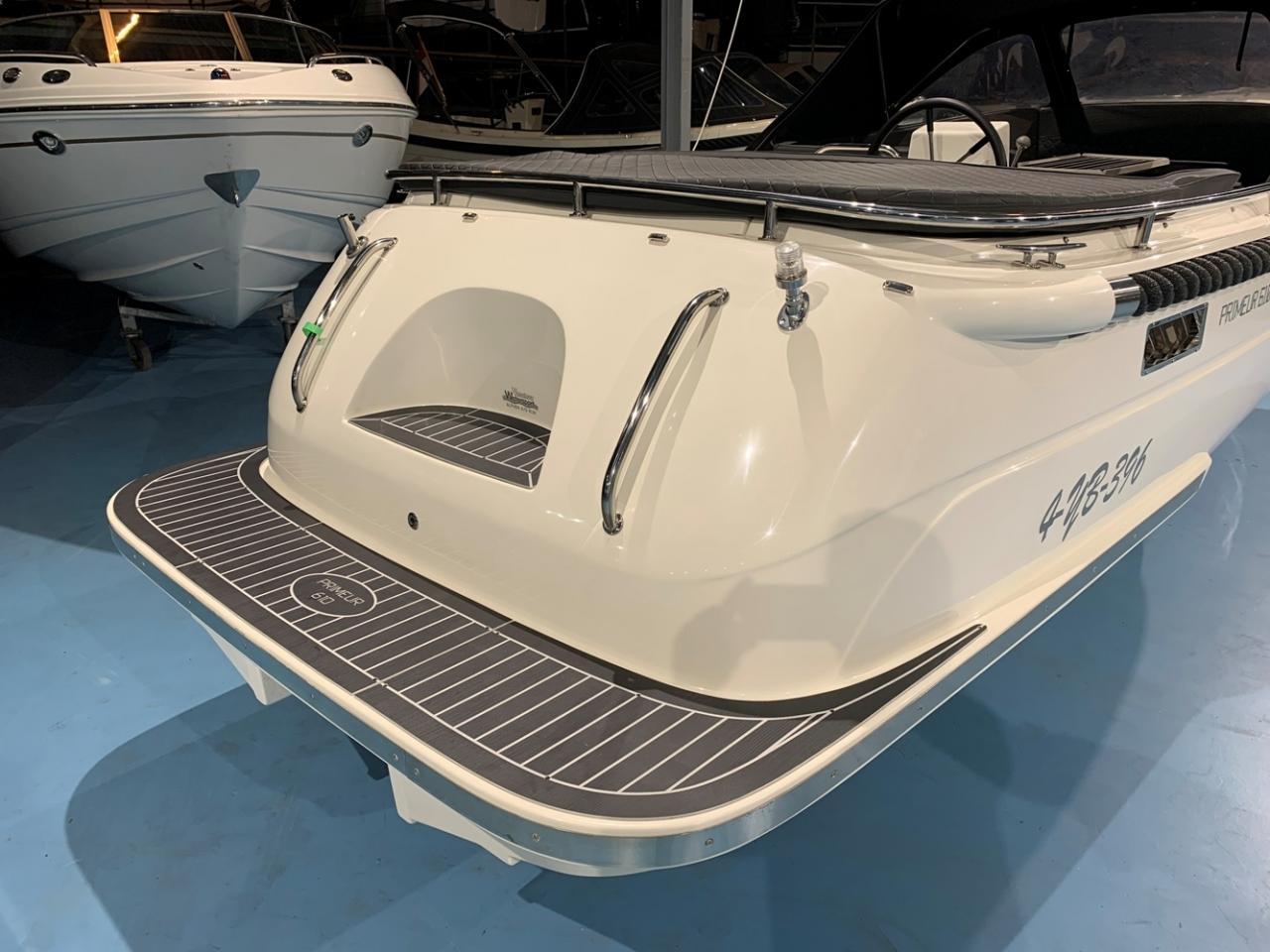 Primeur 610 tender met Suzuki 60 pk full options! 2