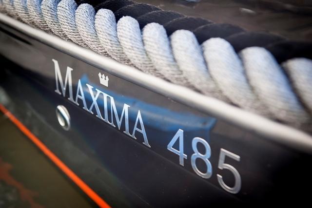 Maxima 485 met honda BF40 lrtu 14