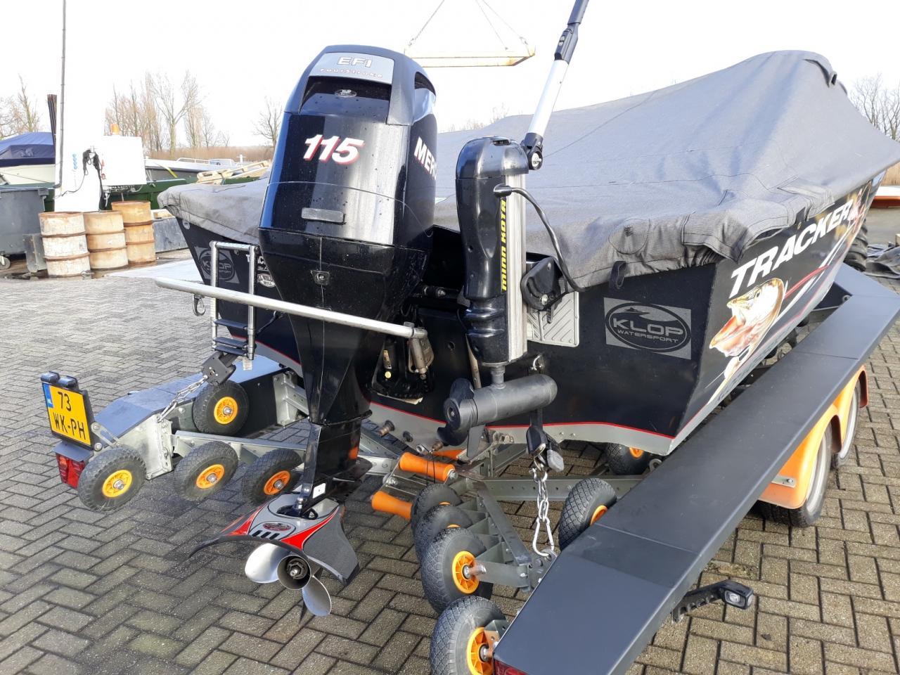 Tracker V175SC met Mercury F115 elpt 22