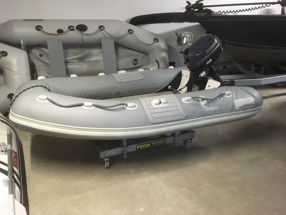 Marine 245 Rib met Yamaha 5pk 1