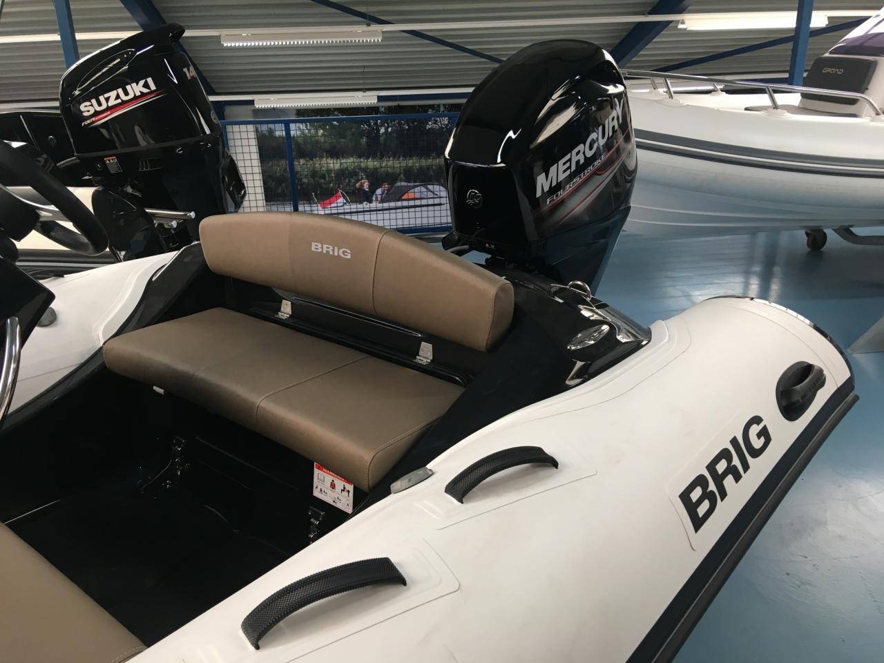 Brig 380 Eagle met Mercury 50 pk EFI ELPT 7