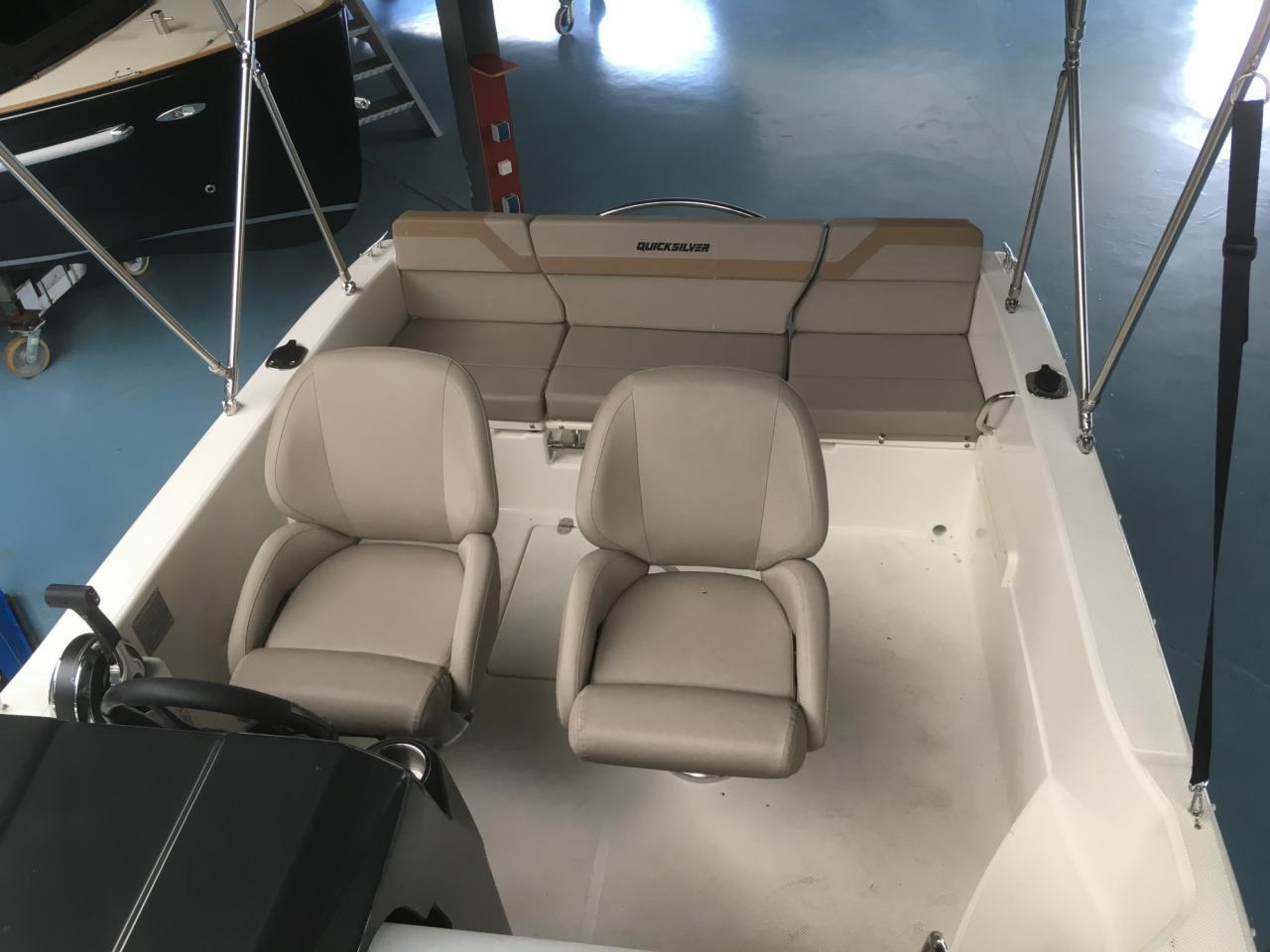 Quicksilver 505 Cabin met Honda 40 pk 4