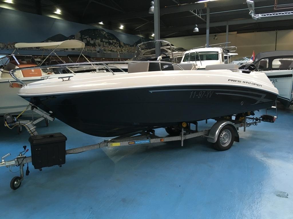 Prins 570 met Mercury 60 ELPT en Pega trailer 1