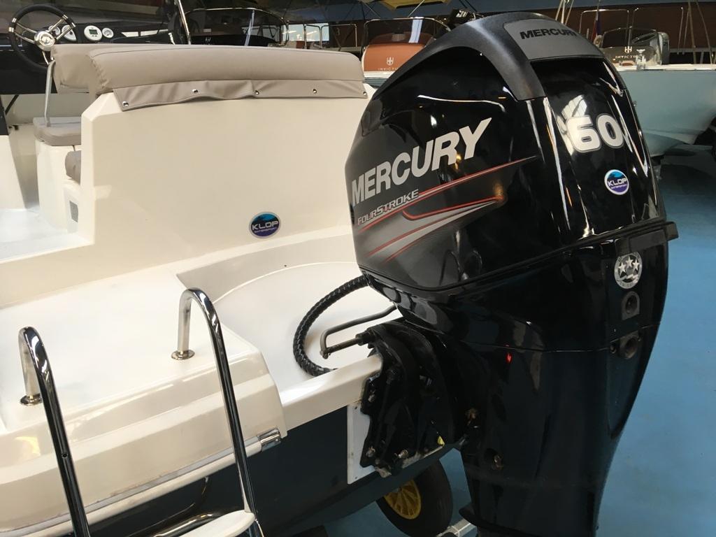 Prins 570 met Mercury 60 ELPT en Pega trailer 6