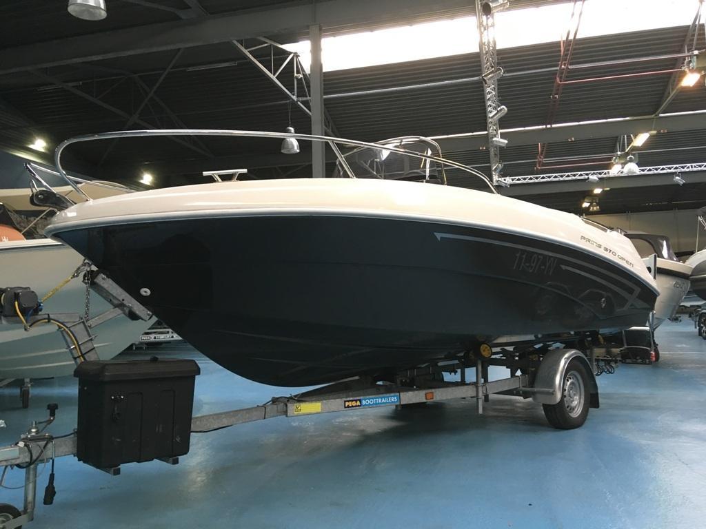 Prins 570 met Mercury 60 ELPT en Pega trailer 7