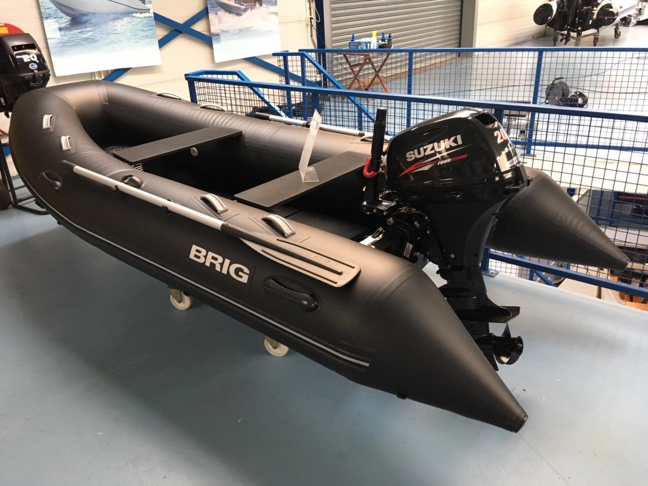 Brig F360 met Suzuki 20 pk 2