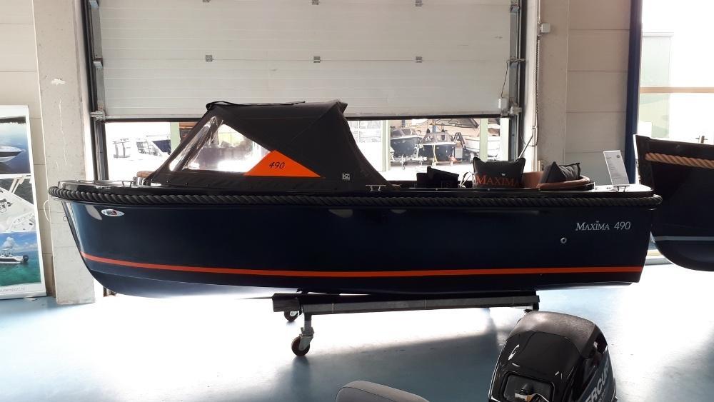 Maxima 490 met Honda BF 10 LRU 2