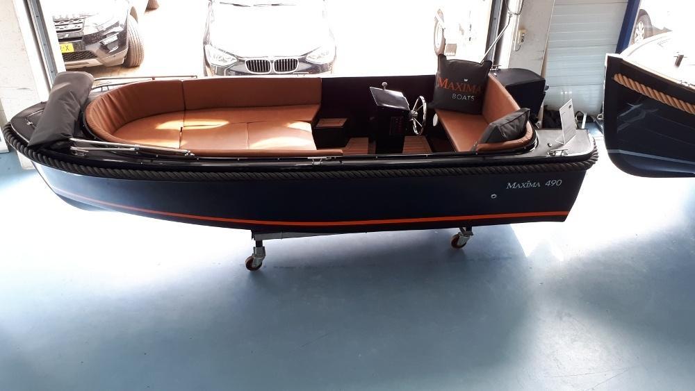 Maxima 490 met Honda BF 10 LRU 4