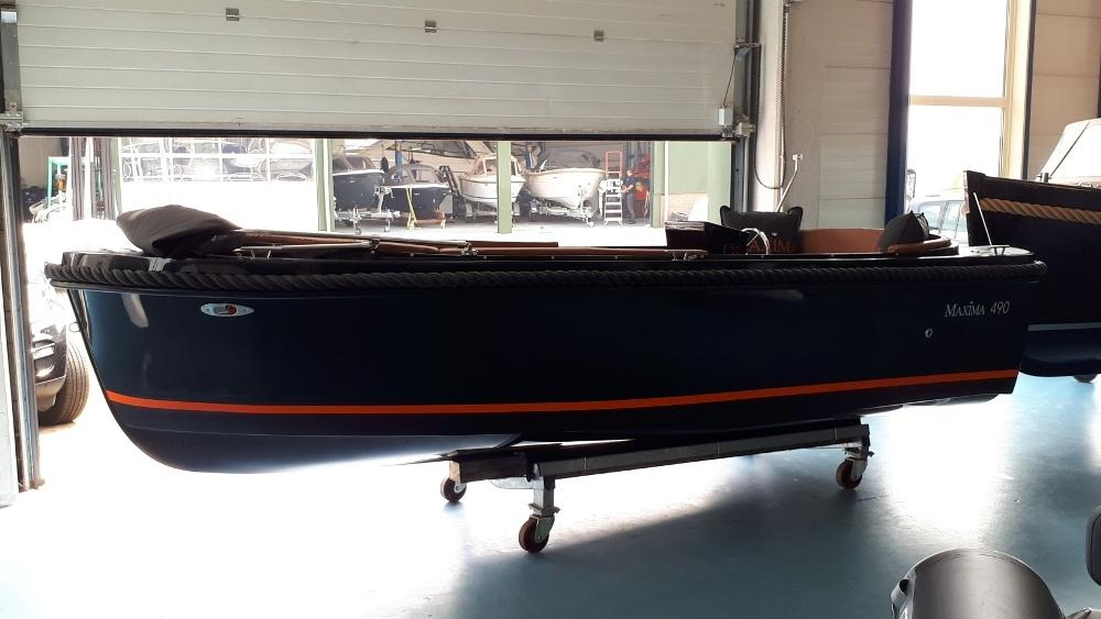 Maxima 490 met Honda BF 10 LRU 5