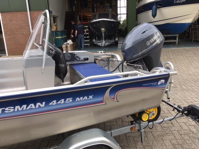 Linder Sportsman 445 max met Yamaha 30 pk 5