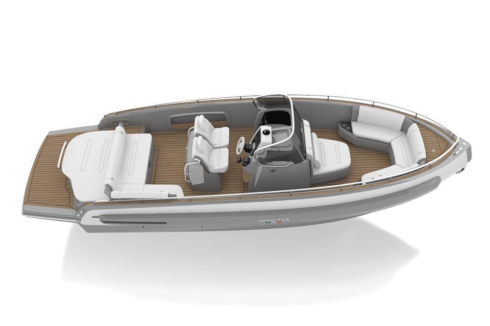 Invictus 280 TT sportboot 10