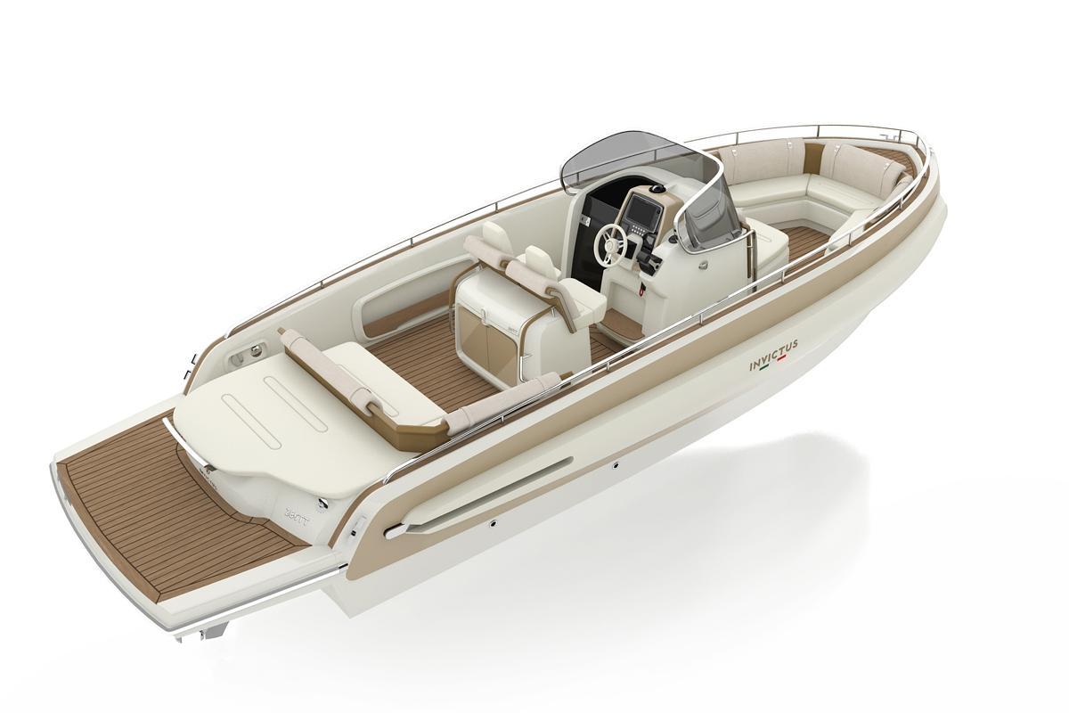Invictus 280 TT sportboot 13