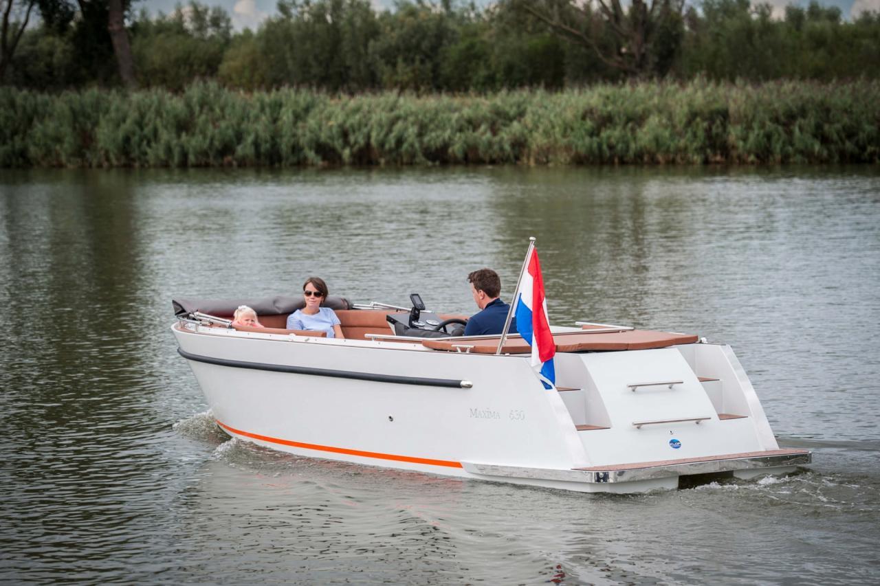 Maxima 630 met Honda 40 pk 19