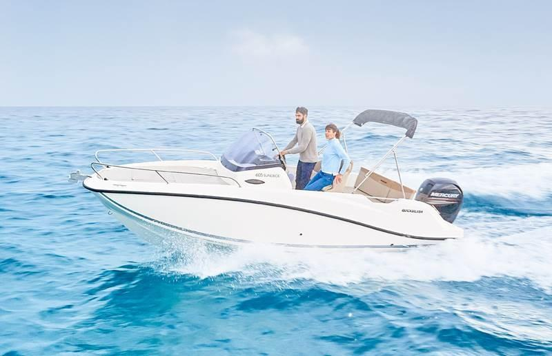 Quicksilver 605 sundeck 6