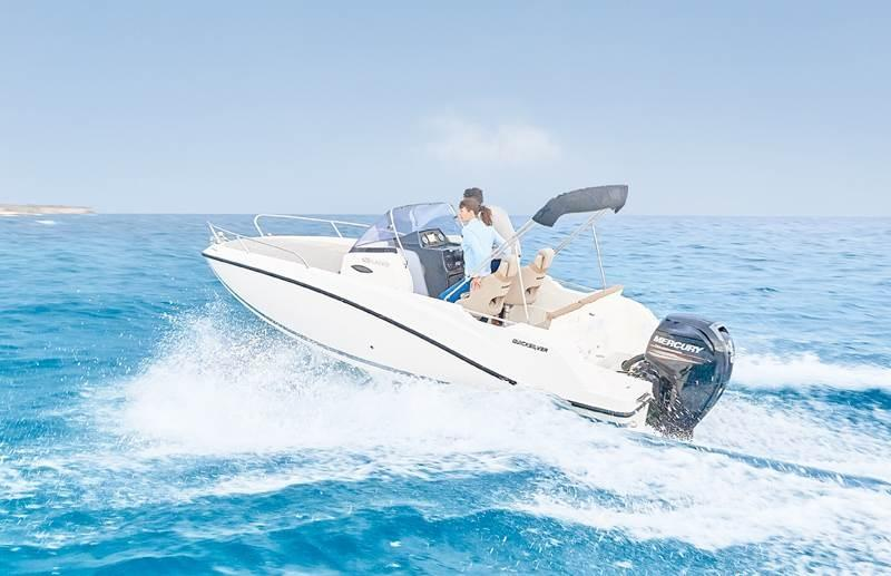 Quicksilver 605 sundeck 8