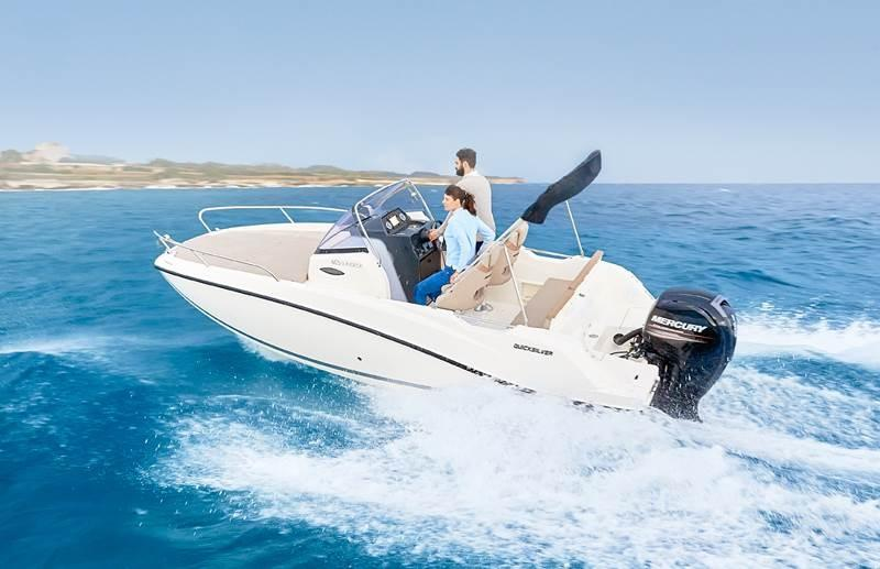 Quicksilver 605 sundeck 1
