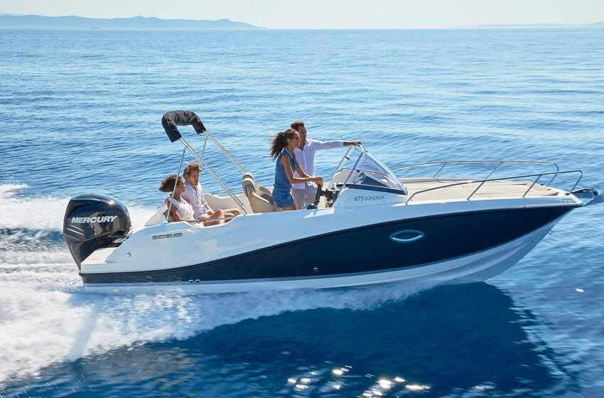 Quicksilver 675 sundeck 5