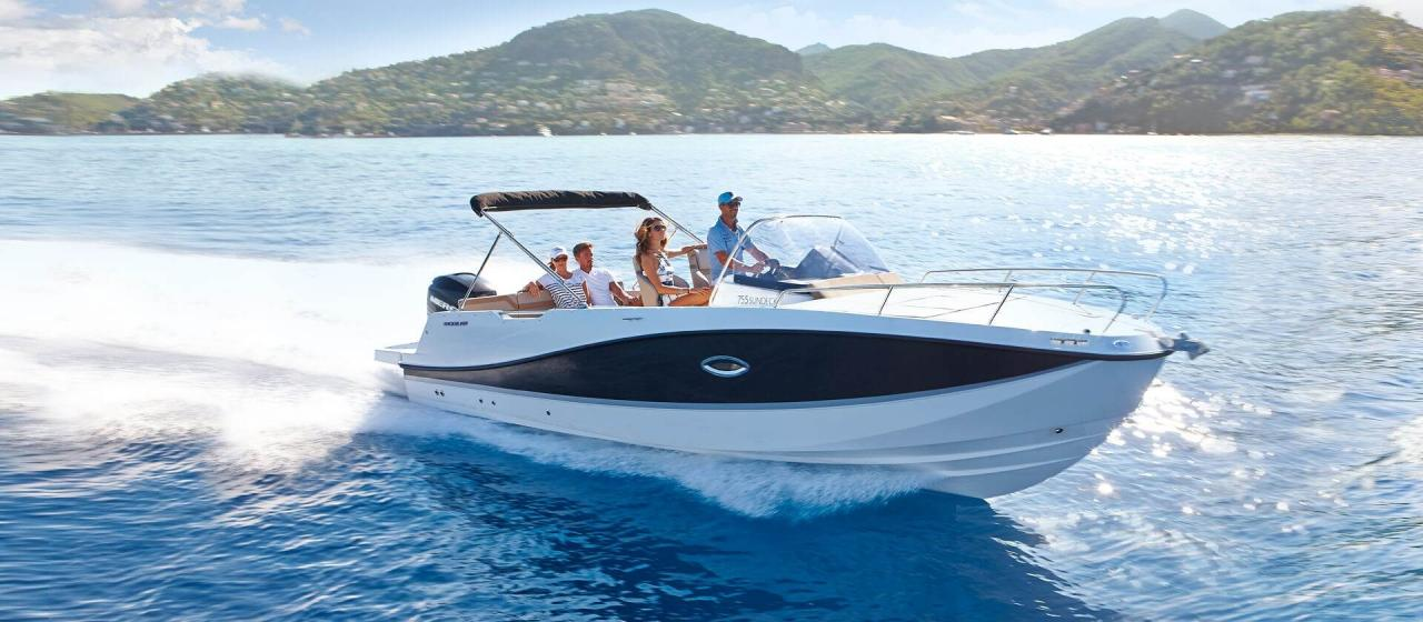 Quicksilver 755 sundeck 3