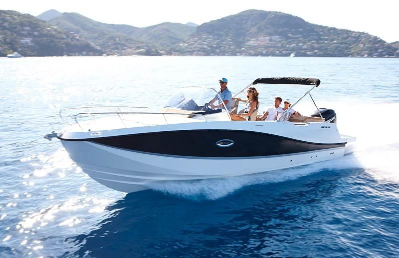 Quicksilver 755 sundeck 5