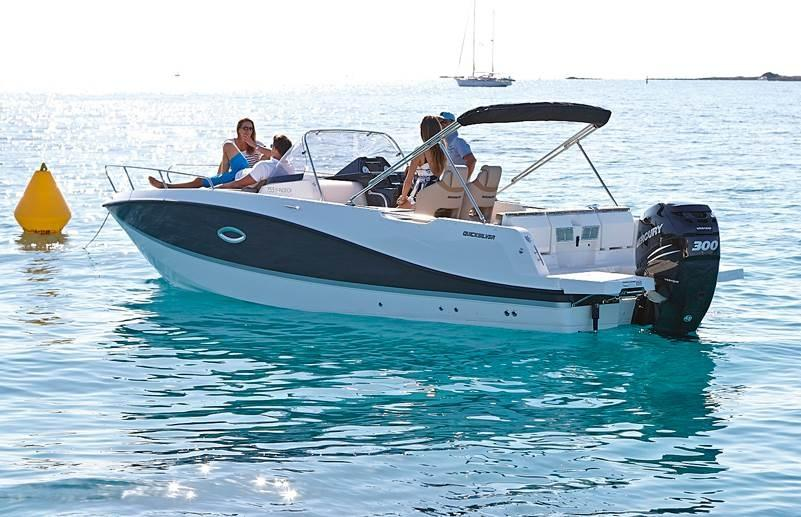 Quicksilver 755 sundeck 1