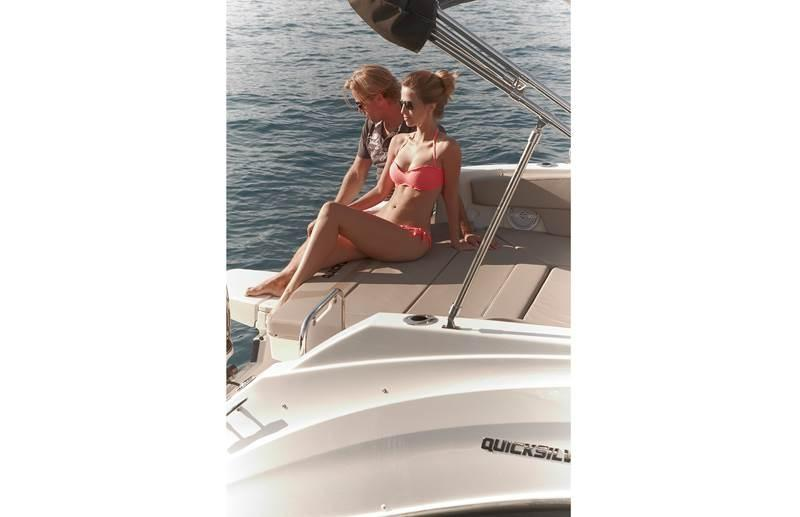 Quicksilver 805 sundeck 10