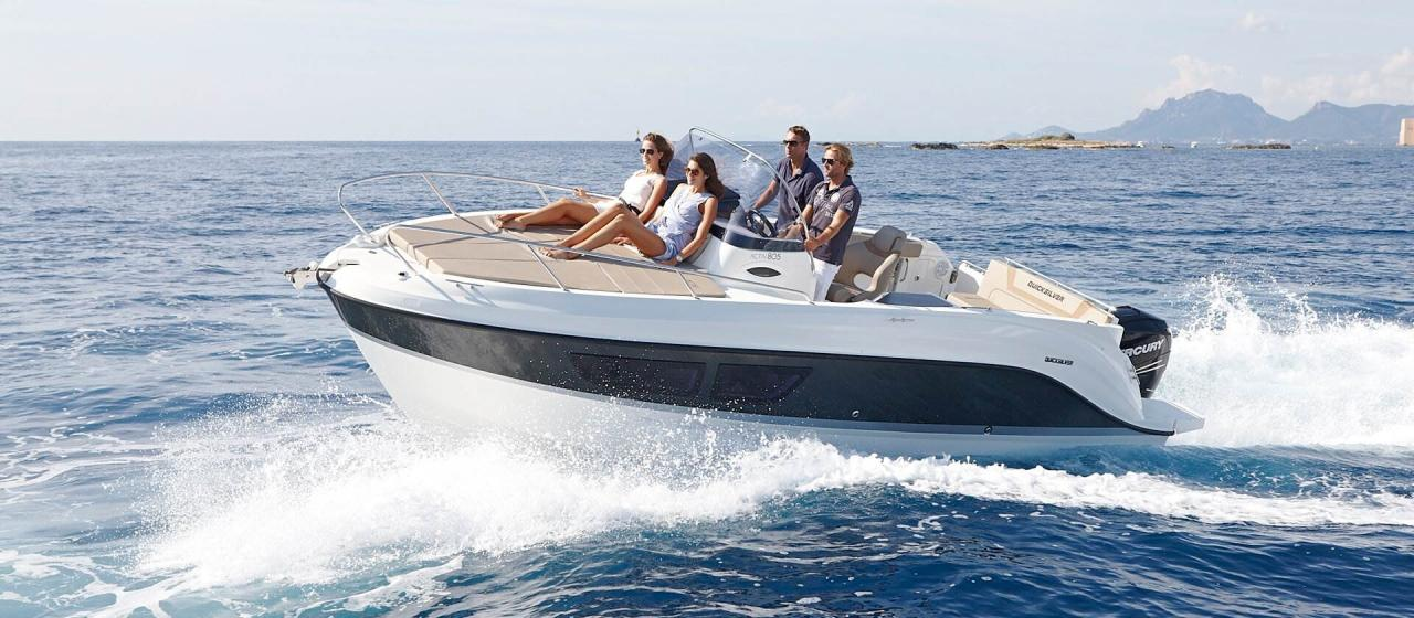 Quicksilver 805 sundeck 2