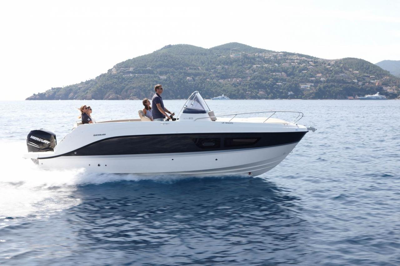 Quicksilver 805 sundeck 8