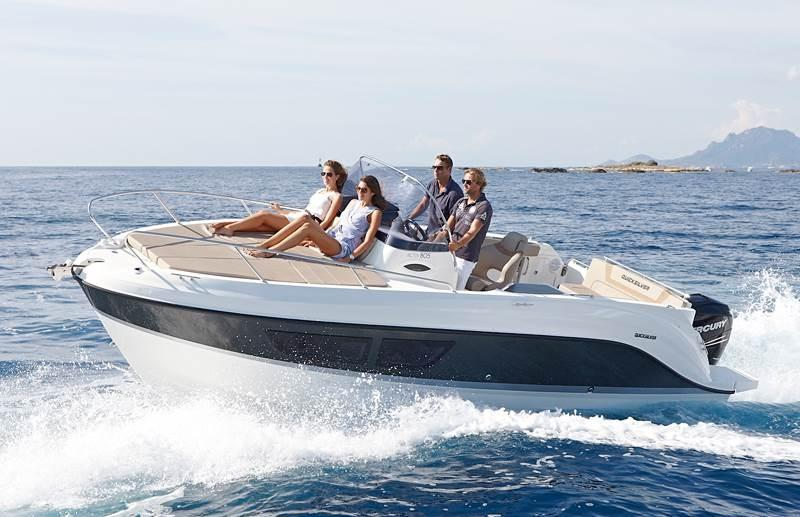 Quicksilver 805 sundeck 12