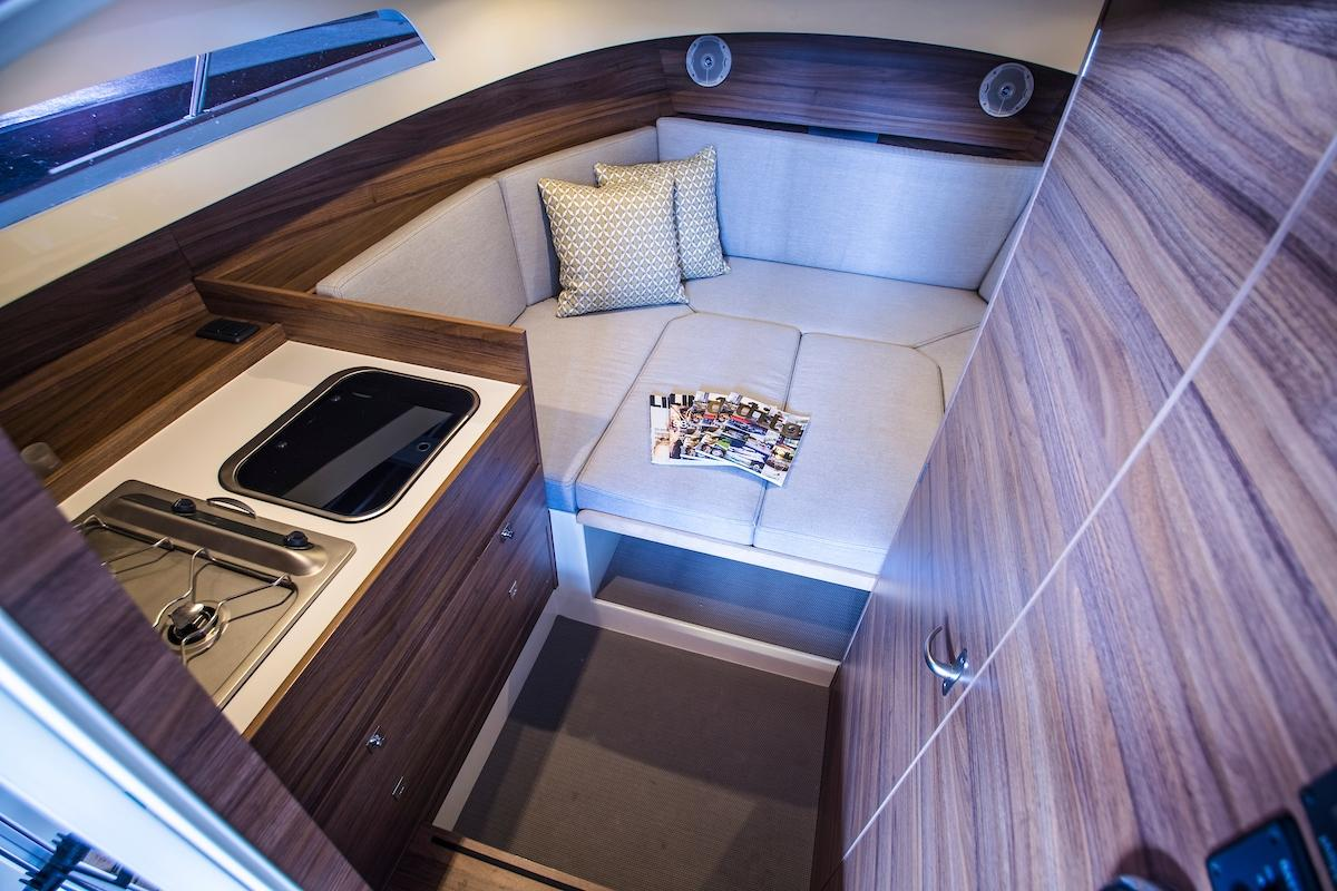 Antaris Seventy7 cabin boot 9