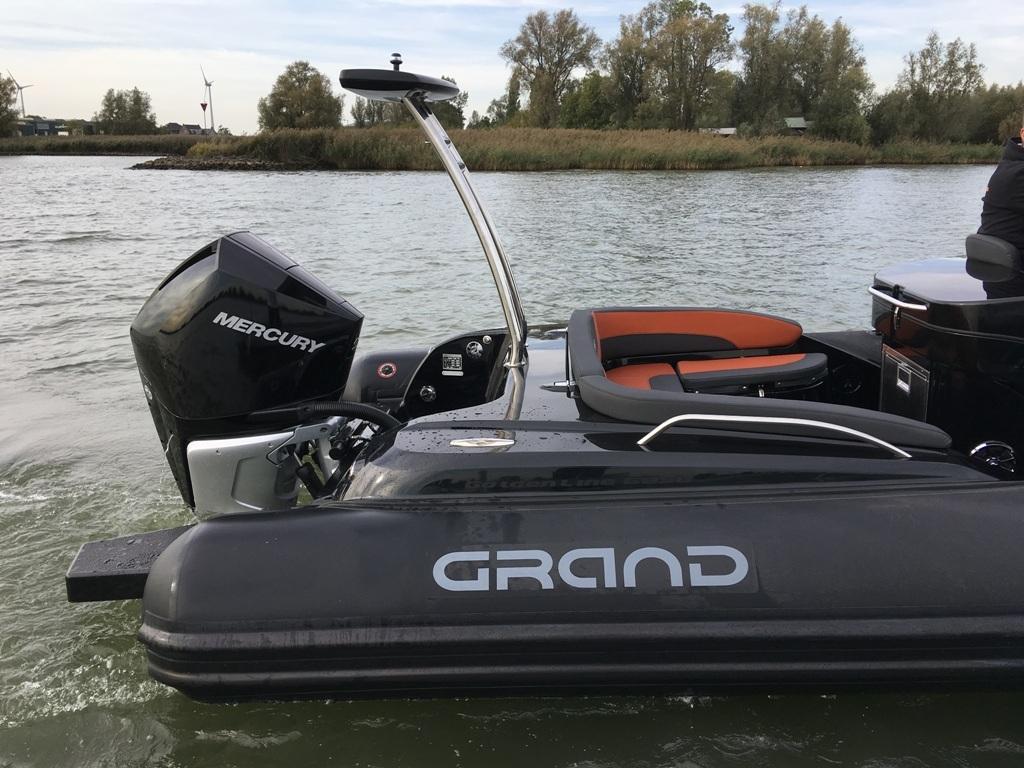 Grand G850 Golden Line rib met Mercury Verado 300 pk 15